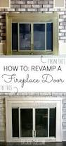 best 25 fireplace doors ideas on pinterest fireplace redo