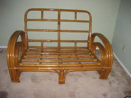 Horseshoe Bench Over 25 Pieces Of Vintage Rattan Available For Sale Tiki Central