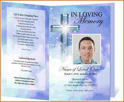 Funeral Program Designs Sample Memorial Program Template Single Fold Funeral Memorial
