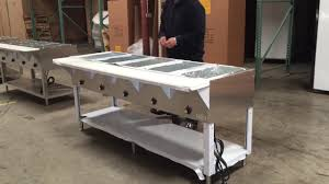 electric steam table countertop 5 plate electric bain marie buffet countertop food warmer steam