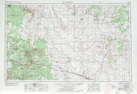 Prescott Arizona Map by Flagstaff Topographic Maps Az Usgs Topo Quad 35110a1 At 1