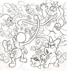 yoshi coloring pages guy coloring pages