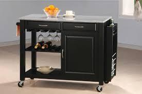 Modern Fruit Holder Kitchen Black Wood Kitchen Utility Chart With Granite Countertops