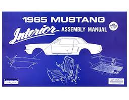 65 Mustang Interior Parts Manual Interior Assembly Champion Mustang Online Shopping For