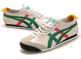 onitsuka tiger mexico 66 shoes beige green red