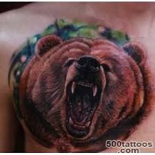 bear tattoo designs ideas meanings images