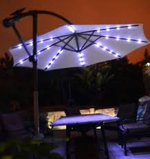 offset patio umbrella with led lights best of patio umbrella with led lights and elegant patio umbrellas