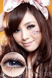 31 cool color contacts images aqua blue eyes