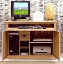 Corona Corner Desk Corona Pine Computer Desk Furniture Corner Hideaway Cupboard Oak