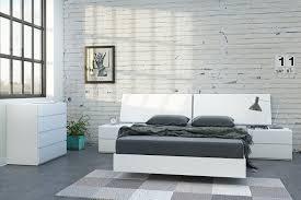 White Platform Bedroom Sets Amazon Com Nexera 345403 Full Size Platform Bed White Kitchen