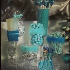 Tiffany Blue Candy Buffet by Blue Candy Buffet Under The Sea Sweet 16 Pinterest Fabrics