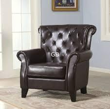 sofa chair single chair leathe chair living room furniture