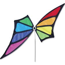 amazon com butterfly spinner rainbow garden outdoor