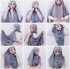 tutorial hijab pashmina kaos yang simple tutorial hijab segi empat simple hijab tutorial pinterest