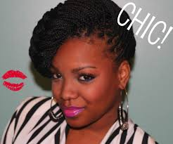 braided pinup hairstyles how to style your box braids youtube