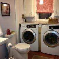 awesome large bathroom laundry space complete remarkable white
