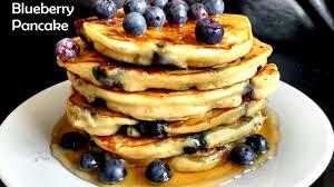 eggless blueberry pancake recipe the best eggless pancake recipe