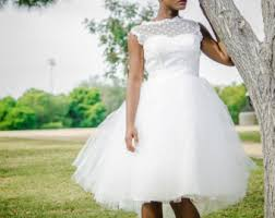 short wedding dress etsy