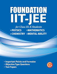 foundation iit jee for class ix x students physics maths and