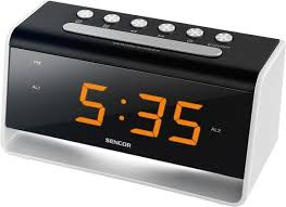 night light alarm clock sdc 4400 alarm clock with led night light sencor sdc 4400