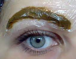 naturally dye your eyebrows with henna henna blog spot