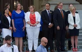 Cabinet Ministers Alberta Alberta Premier Rachel Notley Reveals Ndp Cabinet At Swearing In