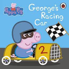 cartoon race car peppa pig george u0027s racing car