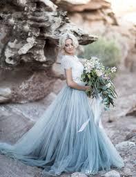 color wedding dresses discount 2017 bohemian colored wedding dresses sleeve