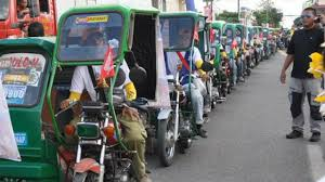 philippine tricycle philippines holds world record for longest tricycle parade youtube