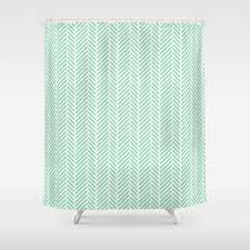 herringbone shower curtains society6 intended for size 1080 x 1080
