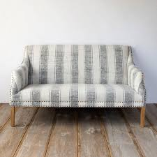 best furniture for shabby chic living room couch sofa striped