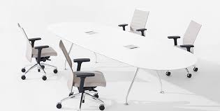 Glass Top Conference Table Vox Glass Top Conference Tables
