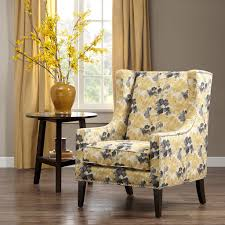 unique wingback accent chair for small home decor inspiration with