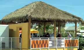 Mexican Thatch Roofing by Our Showroom Palmex Usa