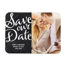 rustic save the date magnets wedding save the date magnets