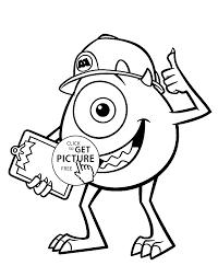 coloring pages monsters monster coloring pages