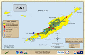 Anguilla Map Anguilla National Progress Report On The Implementation Of The