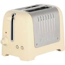 Dualit Sandwich Toaster Dualit Lite 26202 2 Slice Toaster Gloss Cream