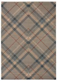 modern plaid area rugs allmodern