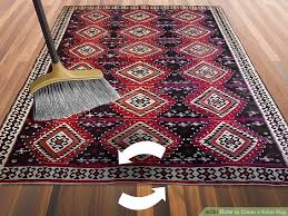 how to clean rugs 4 ways to clean a kilim rug wikihow