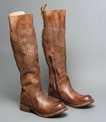 womens boots zip up back cambridge driftwood wide calf back lace up boot