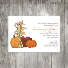thanksgiving invitations free templates potluck invite template virtren com