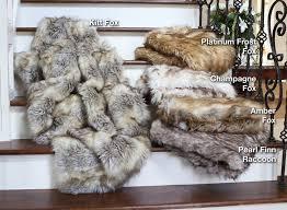 fur throws for sofas fox faux fur throw blanket bachelor on a budget