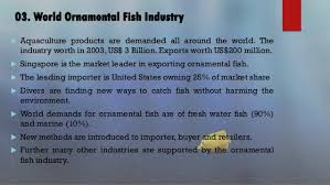 ornamental fish industry in sri lanka