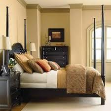 Bedroom Furniture Set The Furniture Black Rubbed Finished Bedroom Set With Panel Bed