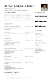 Examples Of Medical Assistant Resume by Chemist Resume Samples Visualcv Resume Samples Database