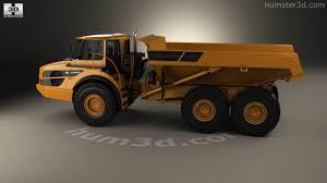 volvo 10 wheeler truck 360 view of volvo a40g dump truck 2014 3d model hum3d store