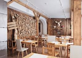 decorations natural wood wall panels and white interior color