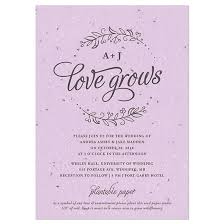 free wedding invitation sles seeds of plantable wedding invitation plantable wedding