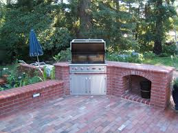 astonishing outdoor brick kitchen designs 29 about remodel free